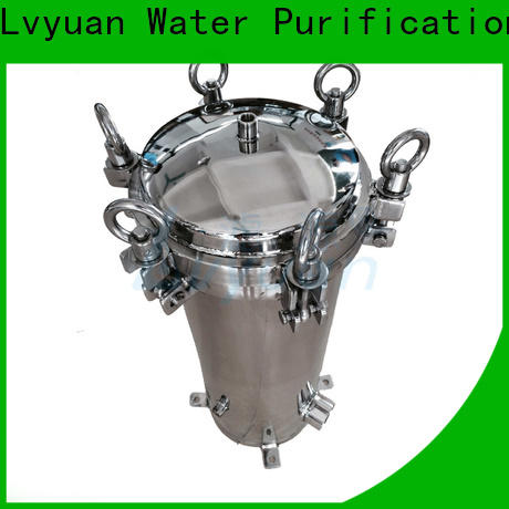high end ss cartridge filter housing with fin end cap for industry