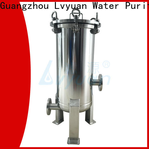 Lvyuan stainless steel bag filter housing housing for sea water treatment