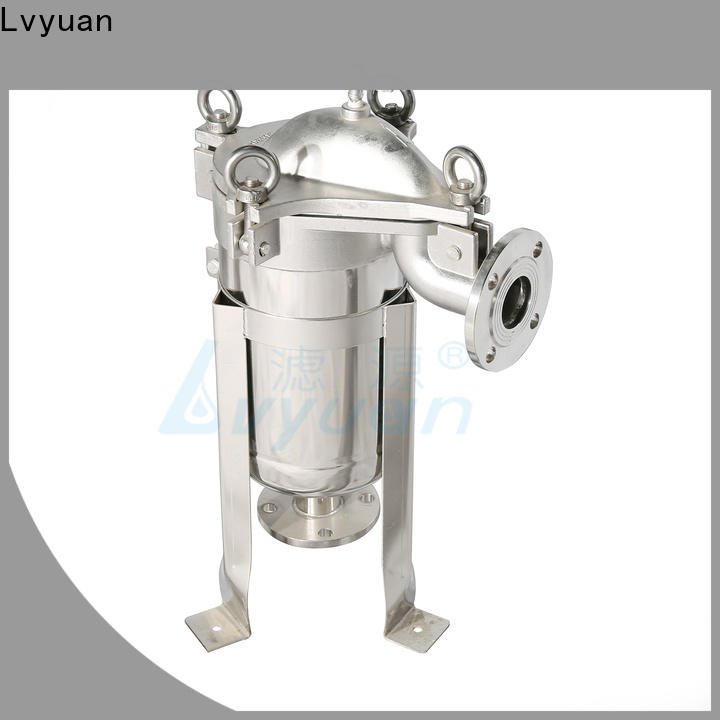 professional stainless steel cartridge filter housing with core for oil fuel