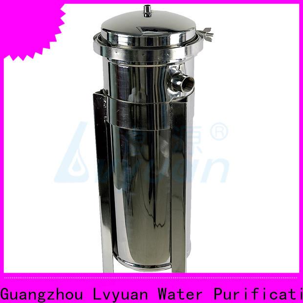 Lvyuan efficient stainless water filter housing housing for sea water desalination