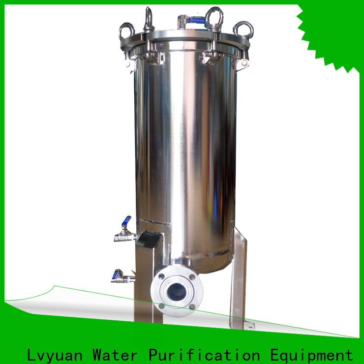 high end stainless steel filter housing with core for food and beverage