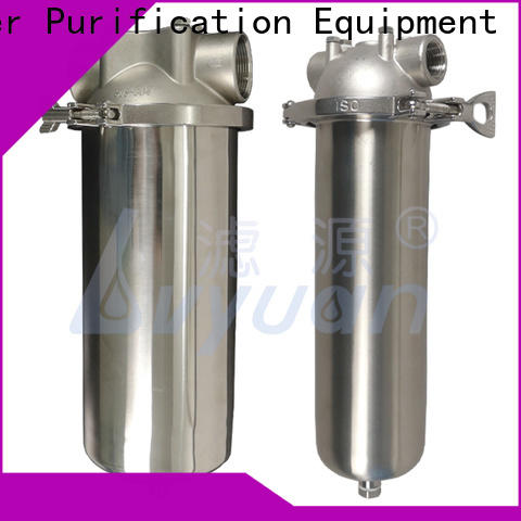 Lvyuan porous stainless steel water filter housing with fin end cap for industry
