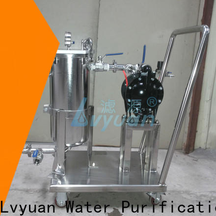 titanium ss filter housing manufacturer for sea water desalination