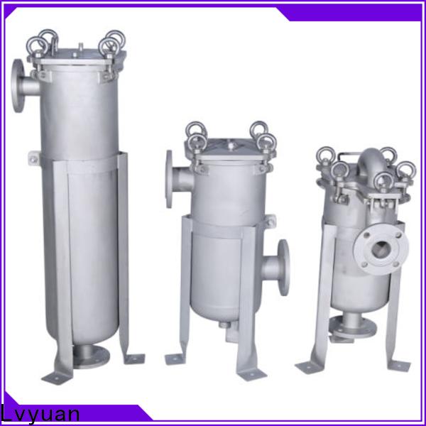Lvyuan best stainless steel cartridge filter housing rod for industry