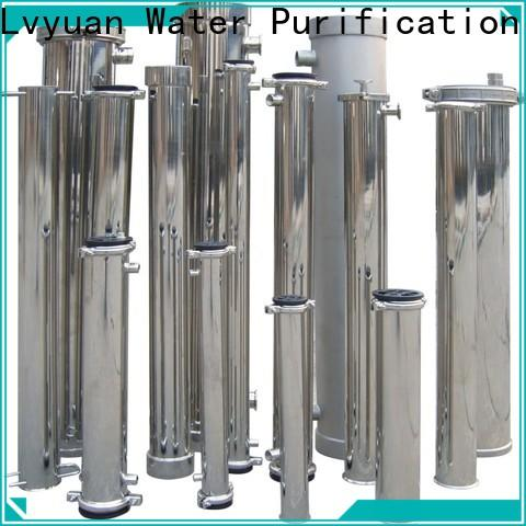 Lvyuan professional ss filter housing manufacturer for sea water treatment
