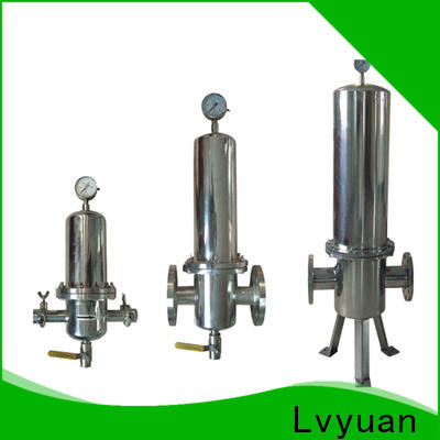 efficient stainless steel cartridge filter housing manufacturer for sea water treatment