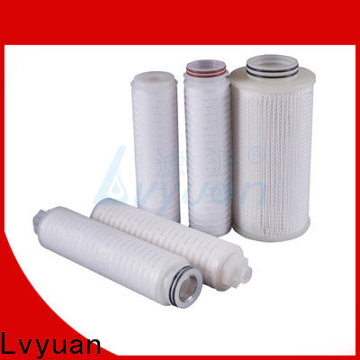 Lvyuan pleated filter supplier for organic solvents