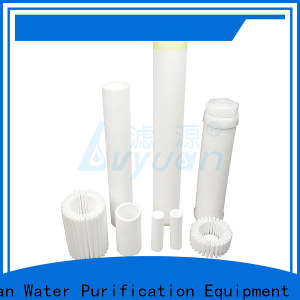 Lvyuan activated carbon sintered powder ss filter supplier for industry