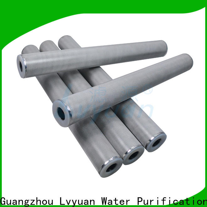 Lvyuan professional sintered powder ss filter rod for sea water desalination