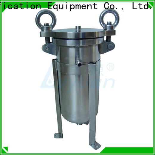 Lvyuan stainless water filter housing with fin end cap for industry