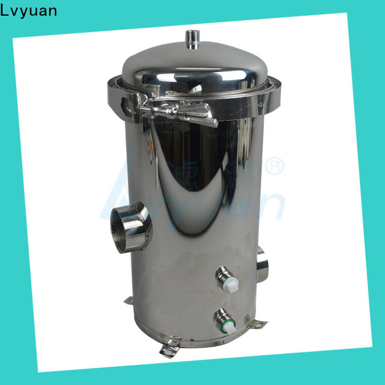 high end ss bag filter housing with fin end cap for oil fuel