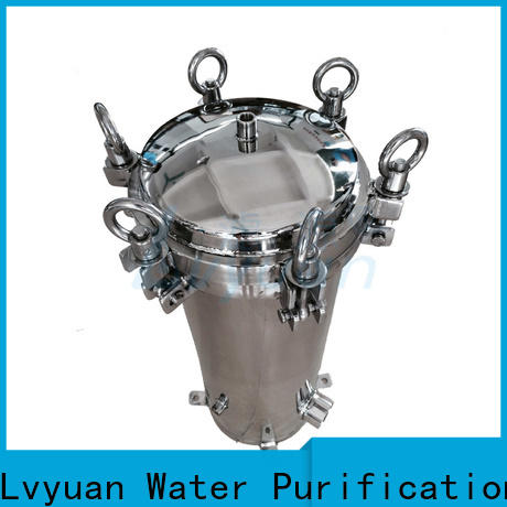 Lvyuan professional ss filter housing manufacturers housing for sea water treatment