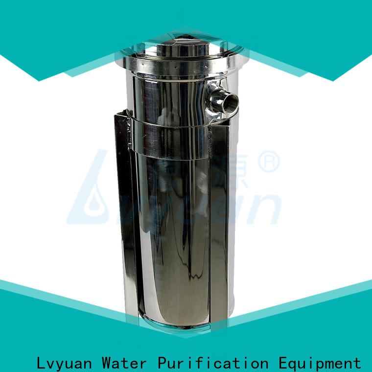 Lvyuan titanium stainless filter housing manufacturer for oil fuel