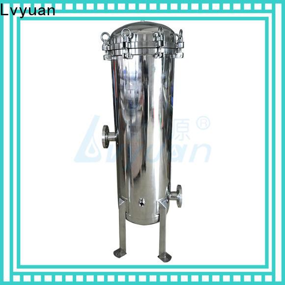 Lvyuan ss bag filter housing manufacturer for industry