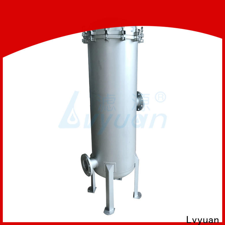 Lvyuan porous ss cartridge filter housing with core for food and beverage