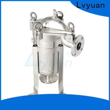 titanium stainless steel filter housing manufacturers with fin end cap for oil fuel
