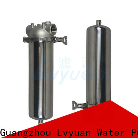 Lvyuan ss bag filter housing with core for food and beverage