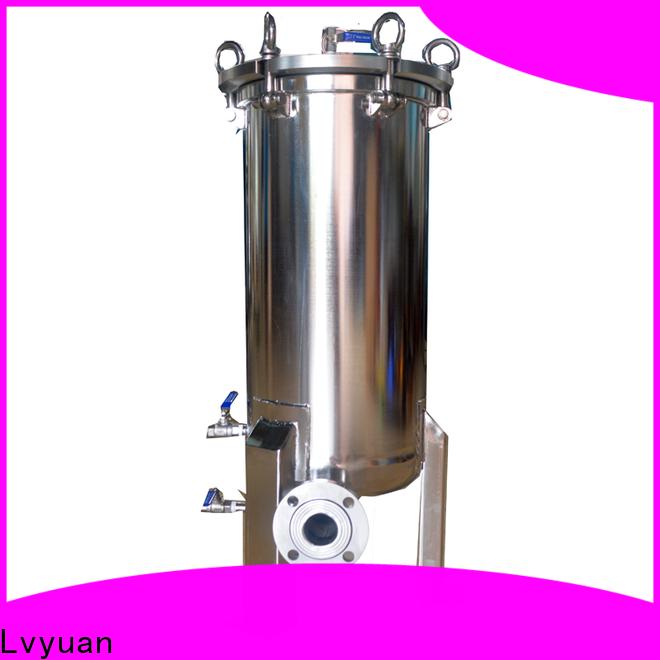 Lvyuan titanium stainless water filter housing housing for sea water desalination