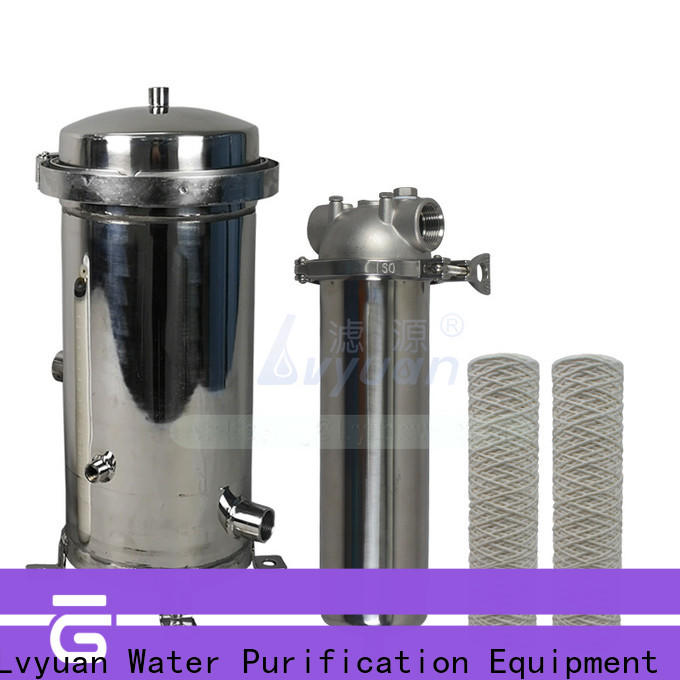 Lvyuan safe filter water cartridge manufacturer for industry