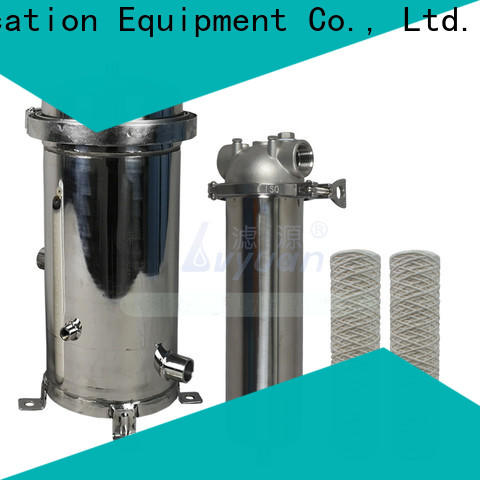 porous stainless steel filter housing rod for oil fuel
