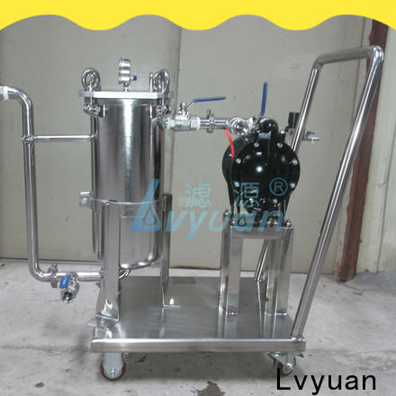 Lvyuan ss filter housing manufacturers housing for food and beverage