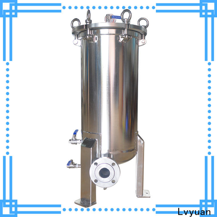 Lvyuan stainless steel filter housing manufacturers rod for food and beverage