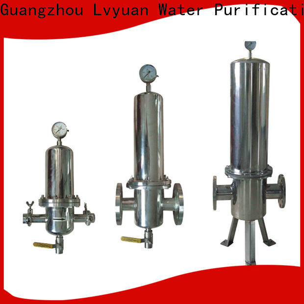 porous stainless water filter housing manufacturer for food and beverage
