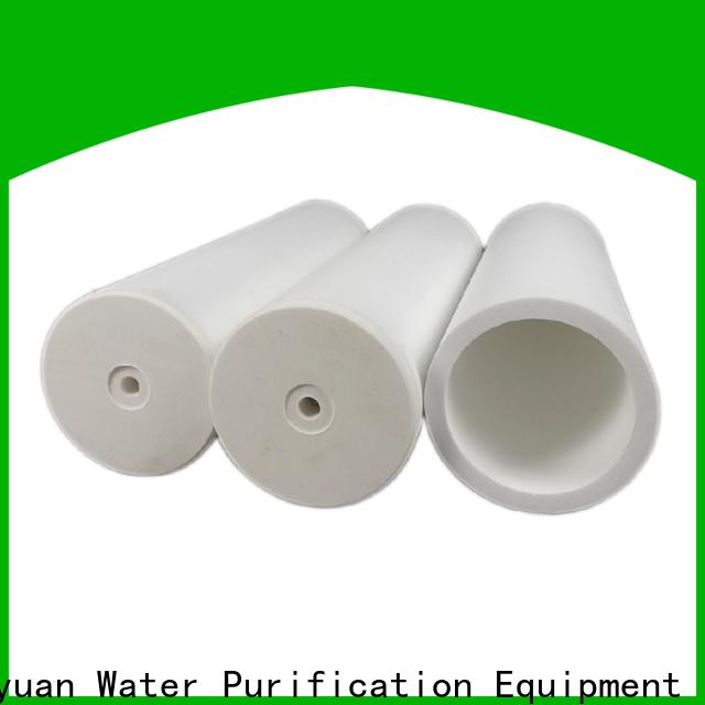 Lvyuan different shape sintered filter cartridge supplier for sea water desalination