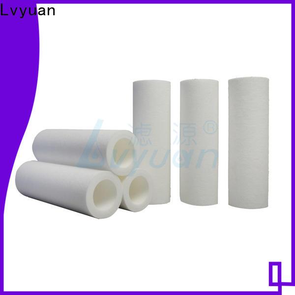 Lvyuan best melt blown filter supplier for sea water desalination