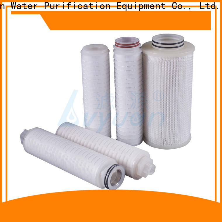 Lvyuan pleated filter manufacturers supplier for food and beverage