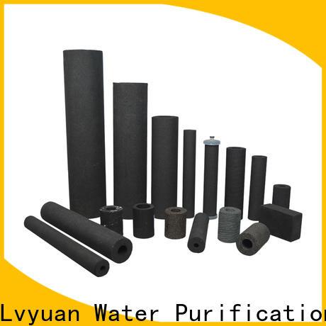 Lvyuan porous sintered powder metal filter supplier for food and beverage