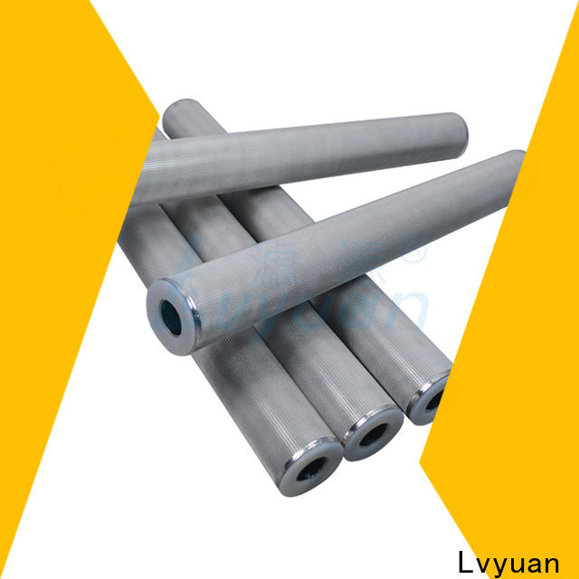 Lvyuan sintered carbon water filter rod for industry