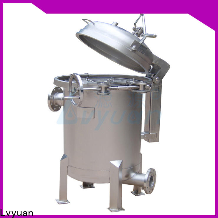 best stainless filter housing with fin end cap for food and beverage