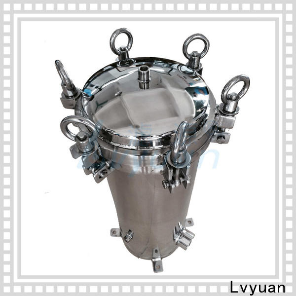 Lvyuan best stainless water filter housing rod for sea water desalination