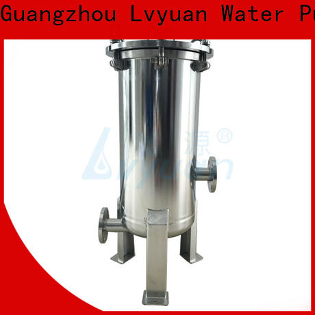 Lvyuan best ss bag filter housing housing for sea water desalination