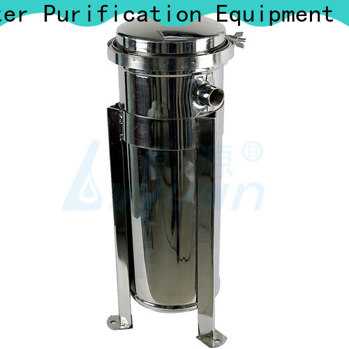 porous stainless steel cartridge filter housing manufacturer for food and beverage