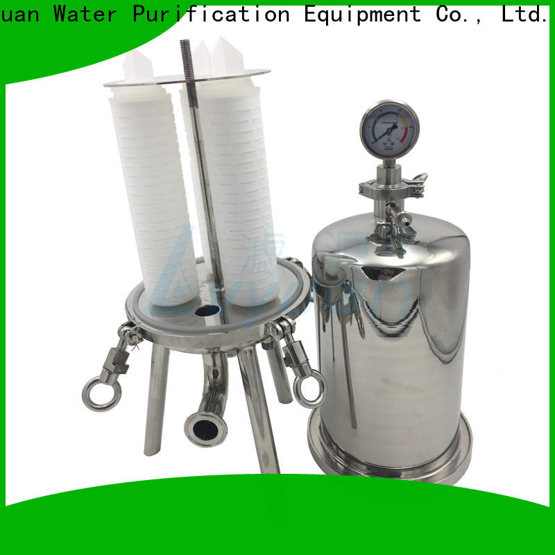 high end stainless steel cartridge filter housing rod for sea water desalination