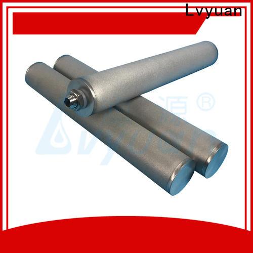 Lvyuan block sintered filter suppliers manufacturer for food and beverage