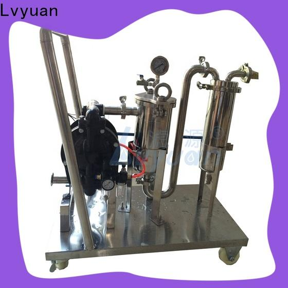 Lvyuan stainless water filter housing with core for industry