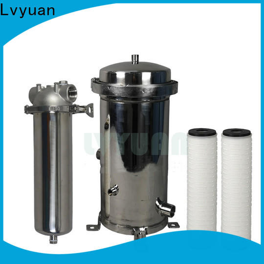 Lvyuan stainless steel water filter cartridge replacement for industry