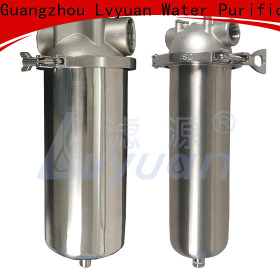 professional stainless steel filter housing with core for sea water desalination