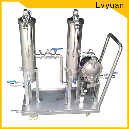 Lvyuan stainless steel filter housing manufacturers housing for food and beverage