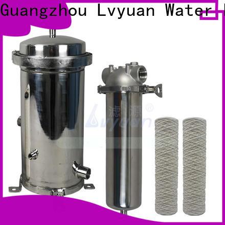 Lvyuan ss bag filter housing manufacturer for food and beverage