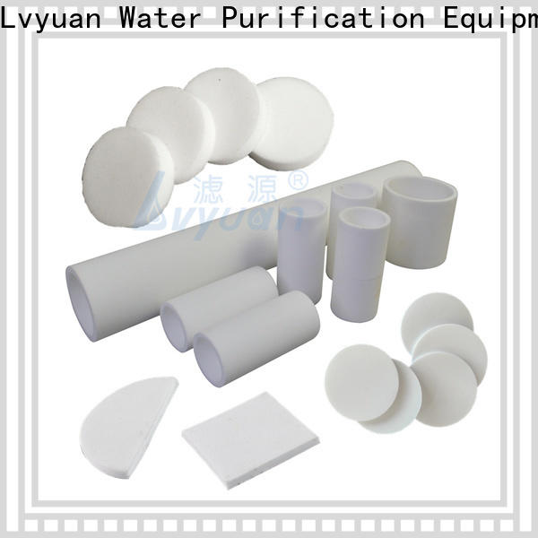 Lvyuan professional sintered filter suppliers rod for sea water desalination