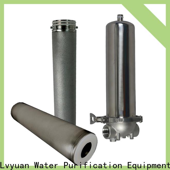 Lvyuan water filter cartridge manufacturer for sea water desalination