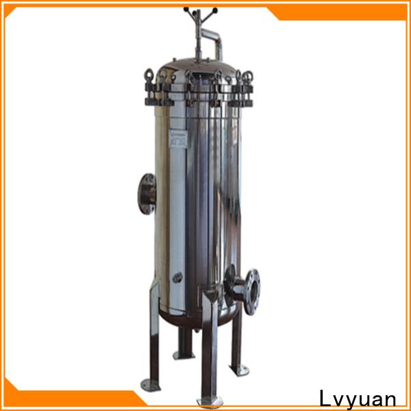 Lvyuan best stainless steel cartridge filter housing manufacturer for industry