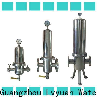Lvyuan high end stainless steel cartridge filter housing housing for oil fuel