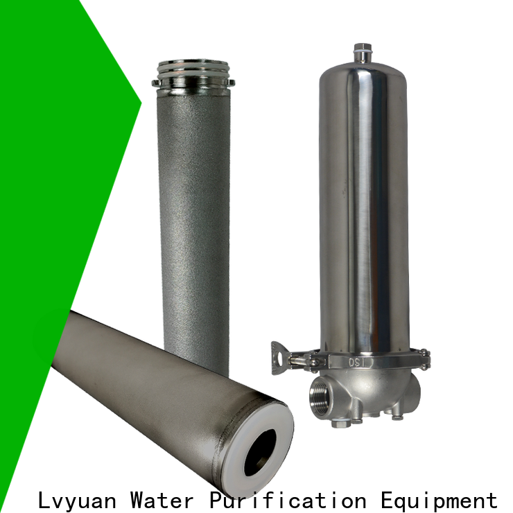 efficient ss filter housing rod for industry