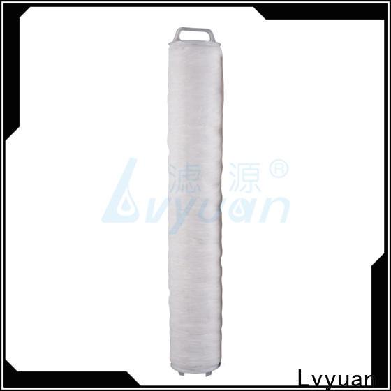 Lvyuan high flow filter manufacturer for sea water desalination