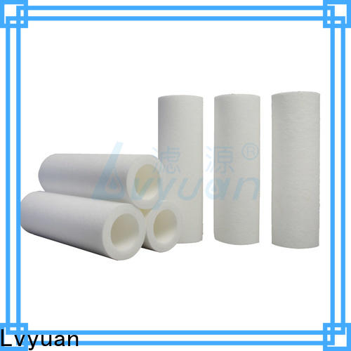 Lvyuan efficient pp melt blown filter cartridge supplier for food and beverage
